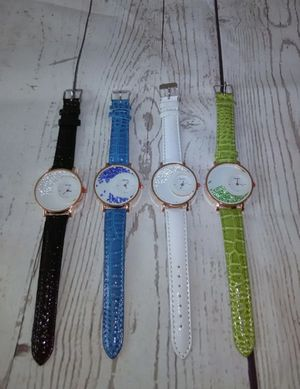 4 New Cute Watches With New Batteries , price for all ( never used ) for Sale in Frederick, MD