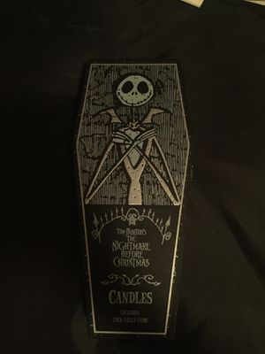 Nightmare before Christmas candlesticks for Sale in Denver, CO