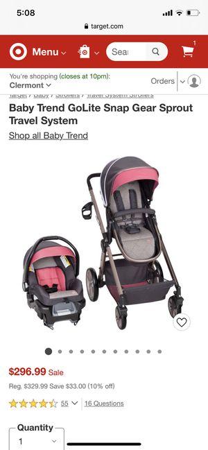 Pink Baby trend Golite stroller for Sale in Winter Garden, FL
