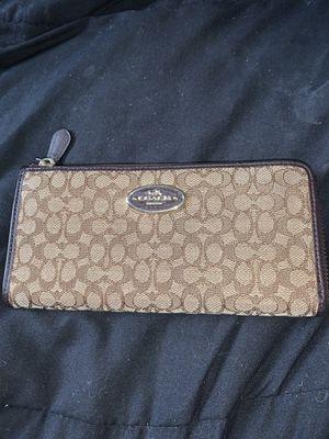 Women's coach wallet for Sale in Stockton, CA