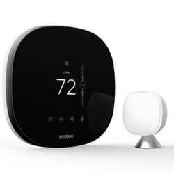Ecobee 4 Smart Thermostat With Room Sensor And Built-in Amazon Alexa for Sale in Newark,  NJ