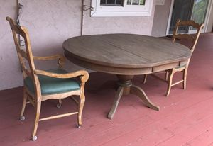 Dining table and two chairs for Sale in West Covina, CA