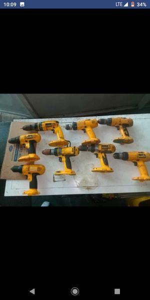 DeWalt 18v drills $20 each for Sale in Hollywood, FL