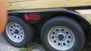 7x18 utility trailer for Sale in Ypsilanti, MI