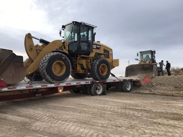 2008 48ft step deck Fontaine, spread axle combo