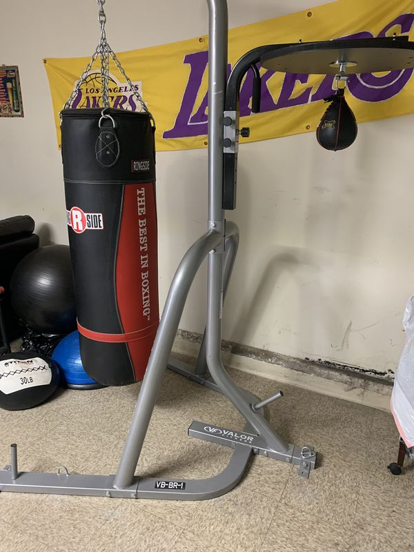 Title boxing bag with stand and speed bag for sale