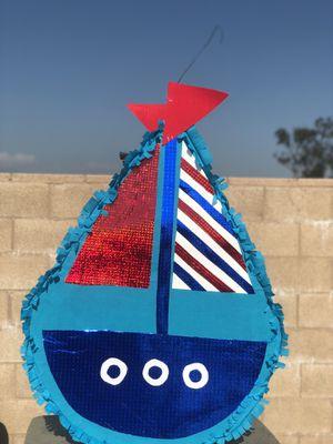 Sailboat Pinata for Sale in Rialto, CA