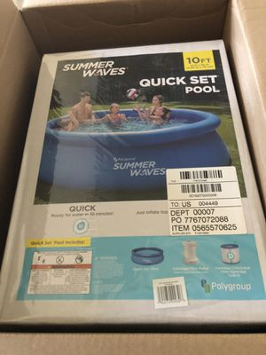 Brand new 10x30 pool with filter and pump for Sale in Benicia, CA