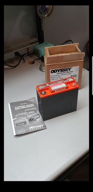 Brand new Odyssey battery , Model # PC 680 great for ATV / UTV / Motorcycle or misc.... for Sale in San Bernardino, CA