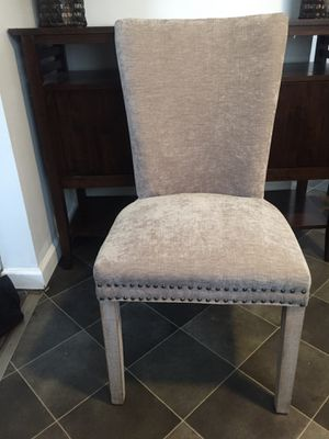 suede dining room chairs (new) for Sale in Columbus, OH