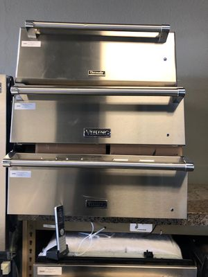stainless steel warming drawer VIKING and THERMADOR //FREE DELIVERY for Sale in Phoenix, AZ