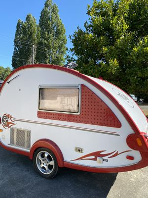 2006 T@B teardrop trailer camper... hardly used, like new. for Sale in Seattle, WA