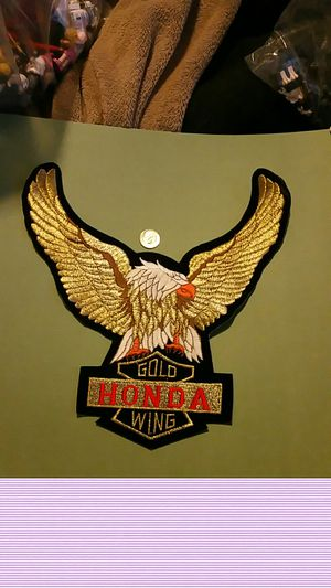 Honda goldwing motorcycle patch $10 for Sale in Tacoma, WA