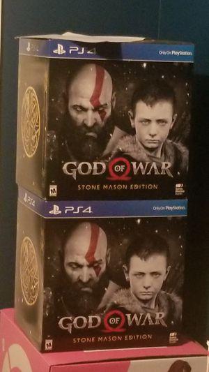 God of war mason collectors edition for Sale in Bremerton, WA