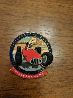 Disney Cruise pin from the Disney magic 2007 Mickey in a race car Villefranche France for Sale in Glendale, AZ