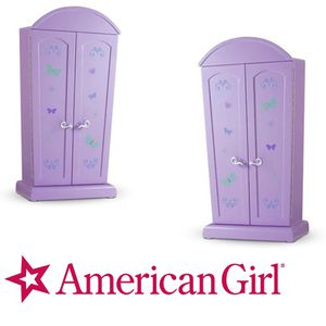 American Girl Computer Armoire w/Desk with Chair for Sale in Yorba Linda, CA