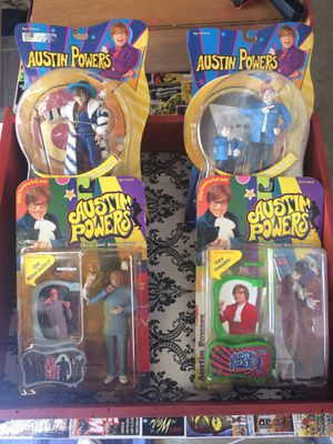Austin Powers Action Figures for Sale in Corona, CA