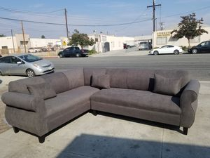 NEW 7X9FT ANNAPOLIS GRANITE FABRIC SECTIONAL COUCHES for Sale in Yucca Valley, CA