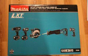 Makita 5 pcs tool set new in box for Sale in Arlington, VA