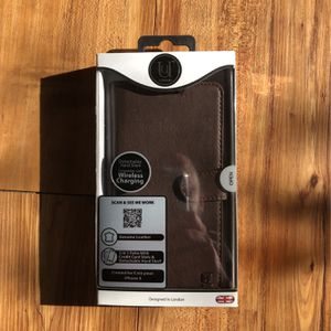Leather Wallet Case iPhone X for Sale in Bloomington, IN