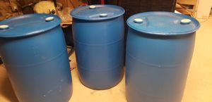 55 gallon drum 3 for $25 or $10 each for Sale in Waterbury, CT
