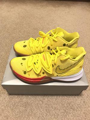 Nike Spongebob Squarepants Kyrie Irving 5 Size 10 for Sale in Irvine, CA