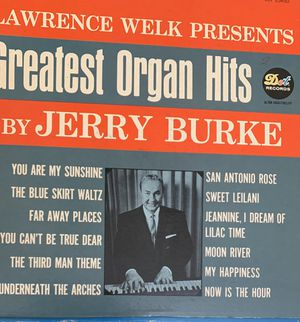 Greatest Organ by Jerry Burke double vinyls for Sale in North Highlands, CA
