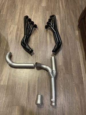 Brand new Long tube headers never used for 2014 and up Chevy and gmc 1500 for Sale in Lubbock, TX
