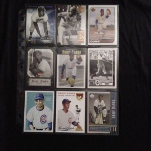 (9) Different ERNIE BANKS Baseball Card Lot Chicago Cubs for Sale in Redmond, WA