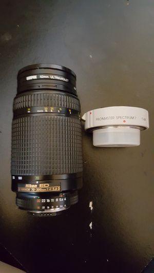 Nikon ED (AF Nikkor 70-300mm 1:4-5.6D for Sale in East Haven, CT