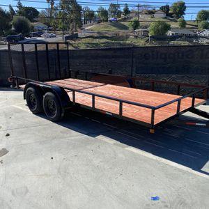 Brand New 8.5x16x1 Utility Trailer for Sale in Corona, CA