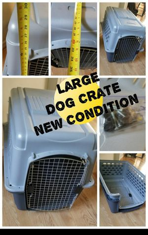 Brand New Dog Crate Large for Sale in Hillsborough, NC