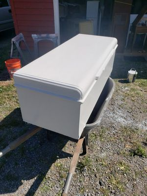 """48"""" long Cedar chest painted white for Sale in Danville, PA"""