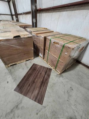 Luxury vinyl flooring!!! Only .65 cents a sq ft!! Liquidation close out! for Sale in Palos Verdes Peninsula, CA