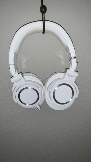 ATH-M50x Professional Monitor Headphones (White) for Sale in Gilbert, AZ