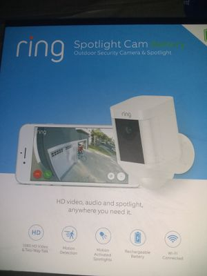 Ring spotlight cam battery for Sale in Fontana, CA
