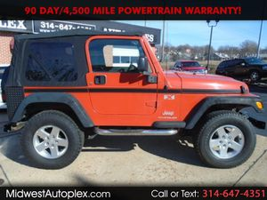 2006 Jeep Wrangler 117k mi Snow Ready 4x4 Lifted Rust Free GEORGIA PEACH, Hot Heat, AC 4.0L Manual Shift for Sale in St. Louis, MO