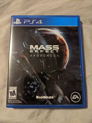 Mass Effect: Andromeda (Sony PlayStation 4, 2017) PS4 Very Clean Video Game for Sale in Elko, MN