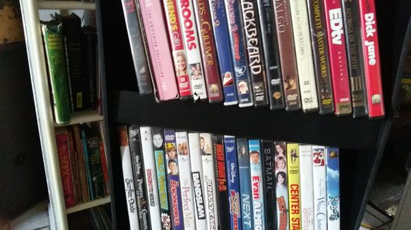 205 movies comedy fiction horror drama with video stand