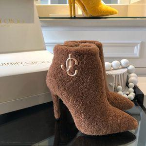 Jimmy Choo shearling heel boots for Sale in Merrillville, IN
