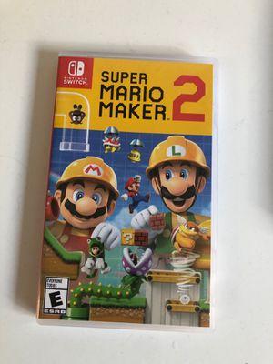 Super Mario maker 2 for Sale in Reston, VA