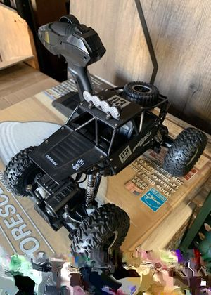 NEW IN BOX 1:18 Scale RC Radio Remote Control Diecast Metal Body Truck Offroad Car Hill Climber with Rechargeable Battery for Sale in Whittier, CA