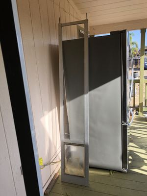 Large Sliding Dog door for Sale in Nipomo, CA