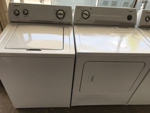 Whirlpool top load washer dryer set for Sale in Tampa, FL