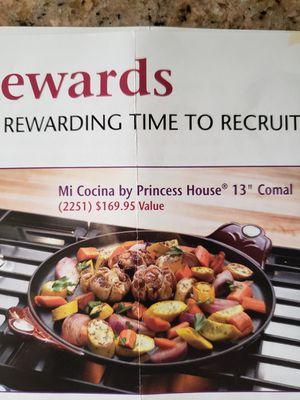 """Princess House Mi Cocina 13"""" Comal - NEW for Sale in Rialto, CA"""