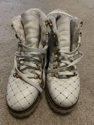 Le silla designer winter boots women Italy! for Sale in Boston, MA