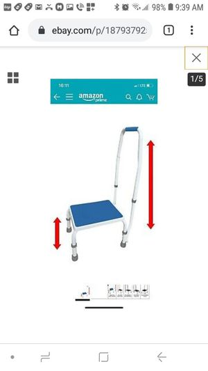 platinum health adjustastep height adjustable step stool for Sale in Jurupa Valley, CA
