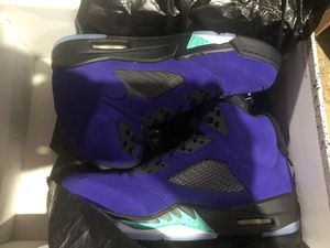 Jordan 5 grapes alternate purple retro sz 8 10 12 for Sale in Rockville, MD