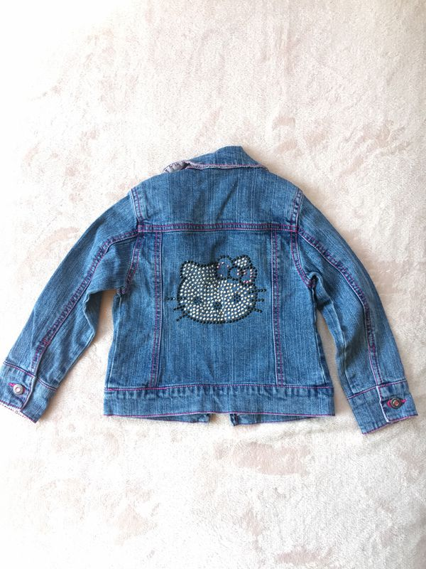 Hello Kitty Jean Jacket - SIZE 3T