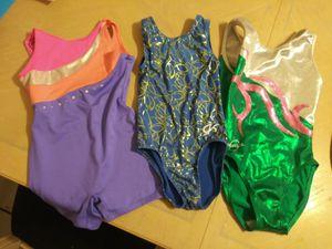 3 girls gymnastics leotards for Sale in Westchase, FL